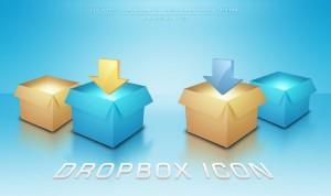Иконки Dropbox