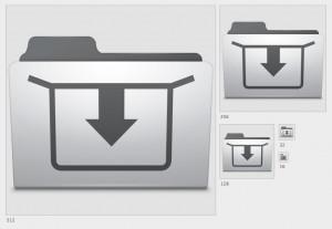 иконка папки Dropbox