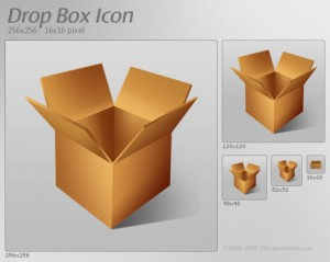 Скачать иконки Dropbox