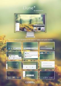 тема оформления Elune для Windows 7