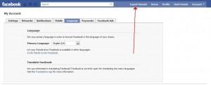 Facebook Frien Export - экспорт контактов