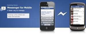 facebook messenger для мобильных
