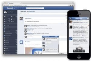 новое оформление для facebook