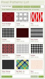 free pixel patterns