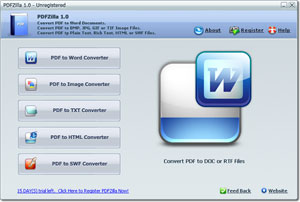 конвертировать pdf в jpg, bmp, txt, word