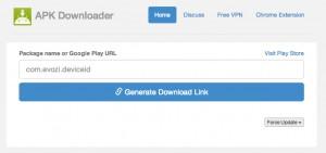 загрузка apk файла из google play
