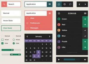 square UI от designmodo