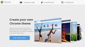 как создать свою тему для Google Chrome