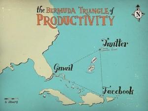 Бермудский треугольник продуктивности в интернете