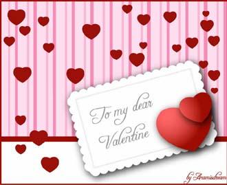 Векторная графика ко Дню Святого Валентина
