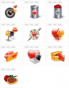 иконки к дню влюбленных