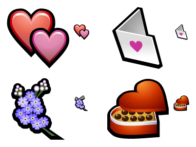 Valentine's Day free icons download