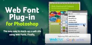 web-fonts  в фотошопе