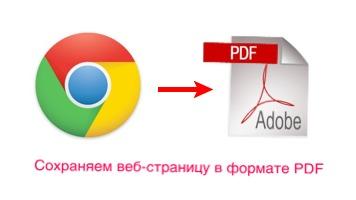 экспорт страницы в pdf