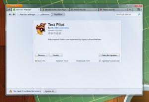 firefox 4 default theme screenshot